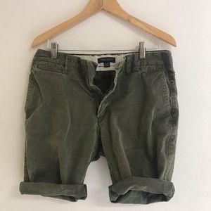 Distressed Banana Republic Mens Chino Shorts